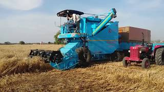 India s First Multi Crop PUNNI Harvester Combine