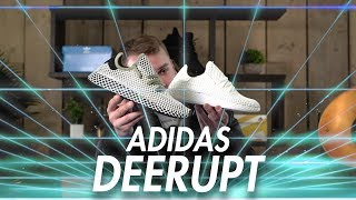 Video adidas DEERUPT | Unboxing, Review & On Foot | Triple White & Olive Colourways download MP3, 3GP, MP4, WEBM, AVI, FLV Juni 2018