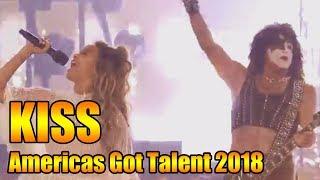 KISS Performs Detroit Rock City on AGT   Americas Got Talent 2018 Highlight GTF