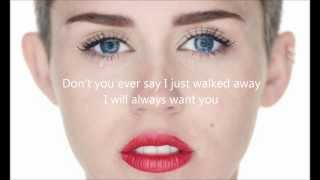 Download Miley Cyrus - Wrecking Ball letra en ingles Mp3 and Videos