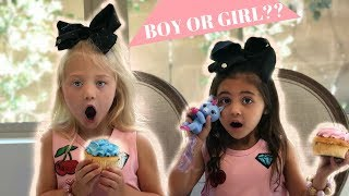 Everleigh and Ava - boy or girl? GENDER REVEAL with Fingerlings Minis!