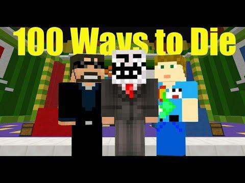 100 ways to die! Minecraft Trivia W/ SSundee and Crainer!