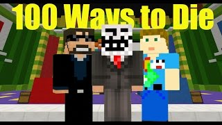 100 ways to die! Minecraft Trivia W/ SSundee and Crainer!