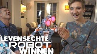 EEN LEVENSECHTE ROBOT WINNEN?!