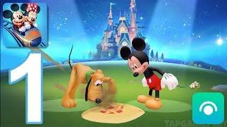 Disney Magic Kingdoms - Gameplay Walkthrough Part 1 - Level 1-3  Ios, Android