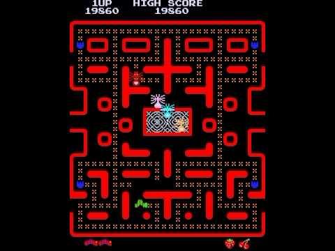 Caterpillar pacman clone hack mame arcade game marp ctrpllrp avi mp4