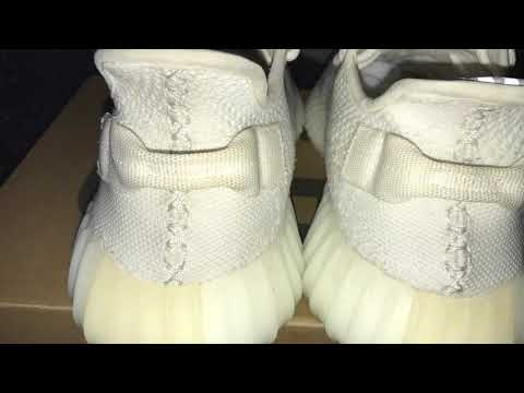 How to clean cream/white YEEZY 350 boost V2's