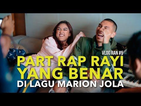 VLOG RAN #5 - NGERAP ALA RAYI DI LAGU MARION JOLA