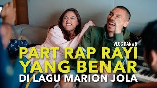 Video VLOG RAN #5 - NGERAP ALA RAYI DI LAGU MARION JOLA download MP3, 3GP, MP4, WEBM, AVI, FLV Juni 2018