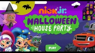 Nick Jr  HALLOWEEN HOUSE PARTY DORA THE EXPLORER, Blaze, Shimmer, Bubble Guppies, Paw Patrol