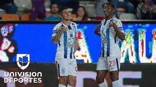 Víctor Guzmán mete a Pachuca a la pelea; Tuzos se impuso 1-0 a Puebla