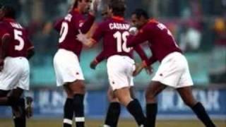 Roma-Verona 3-2 - Radiocronaca di Riccardo Cucchi (13/1/2002) Tutto il calcio minuto per minuto