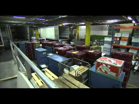 Loading European Parliament trunks to be taken from Brussels to Strasbourg