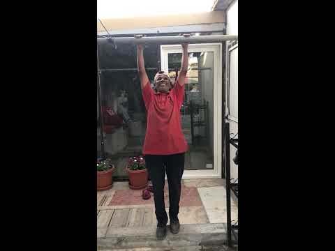 Bar Pull Up by 65+ Aged Dude in UAE Mr.Wadude | iron Man | Man of Steel | Chacha