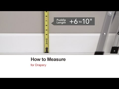 Bali Blinds | How to Measure Drapery