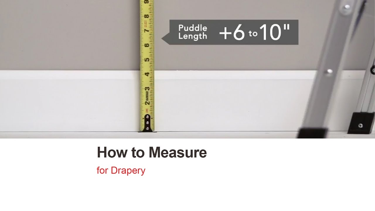 Bali Blinds How To Measure Drapery Youtube