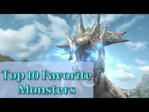 Top 10 Favorite Monsters in Monster Hunter