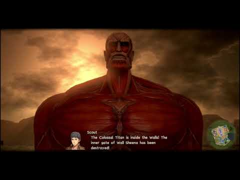 Attack On Titan 2 [PS4] - Story Mission: Nameless Hero SS Rank