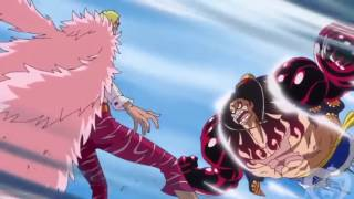 Luffy Gear 4 Vs Doflamingo