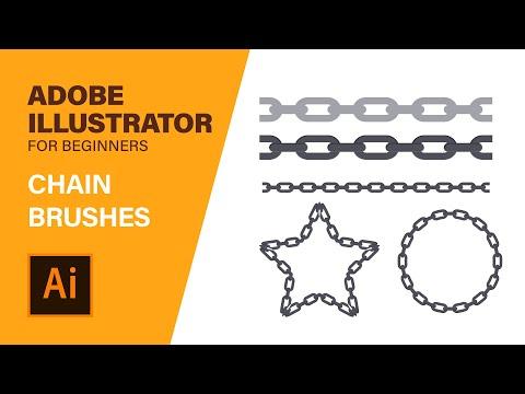 ILLUSTRATOR PATTERNS - Custom Brush Tutorial (PLEASING)