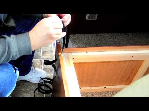 Adding storage space under the dinette in my RV. - YouTube
