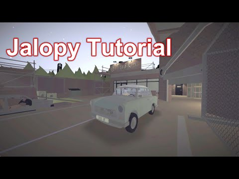 Jalopy | Tutorial | Gameplay No Commentary |
