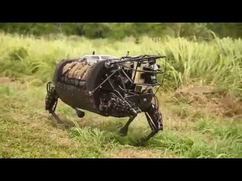 DARPA LS3 Robot Field Test