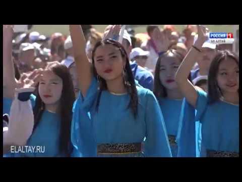 Горно-Алтайск успешно выступил на Эл Ойыне