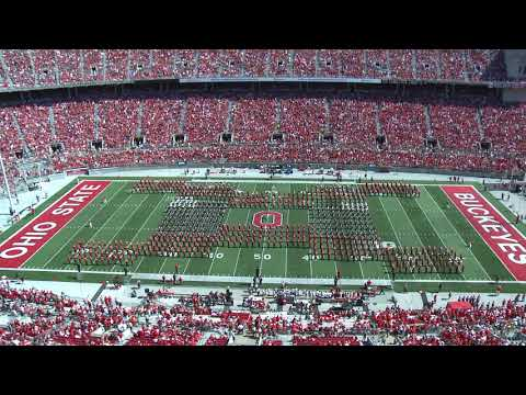 The Ohio State Marching Band: The Journey West / Halftime Tribute