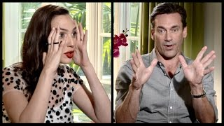 Gal Gadot (Wonder Woman) and Jon Hamm (Mad Men) on social media and lack of privacy