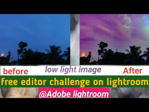 Challenge of free vs paid software on low light image