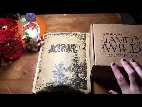 Wild Crystals Intro & December Box vs Enchanted Crystals Subscription Box