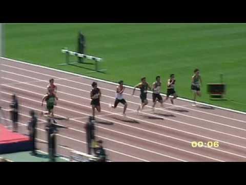 2009 Vic U20 Men 100m