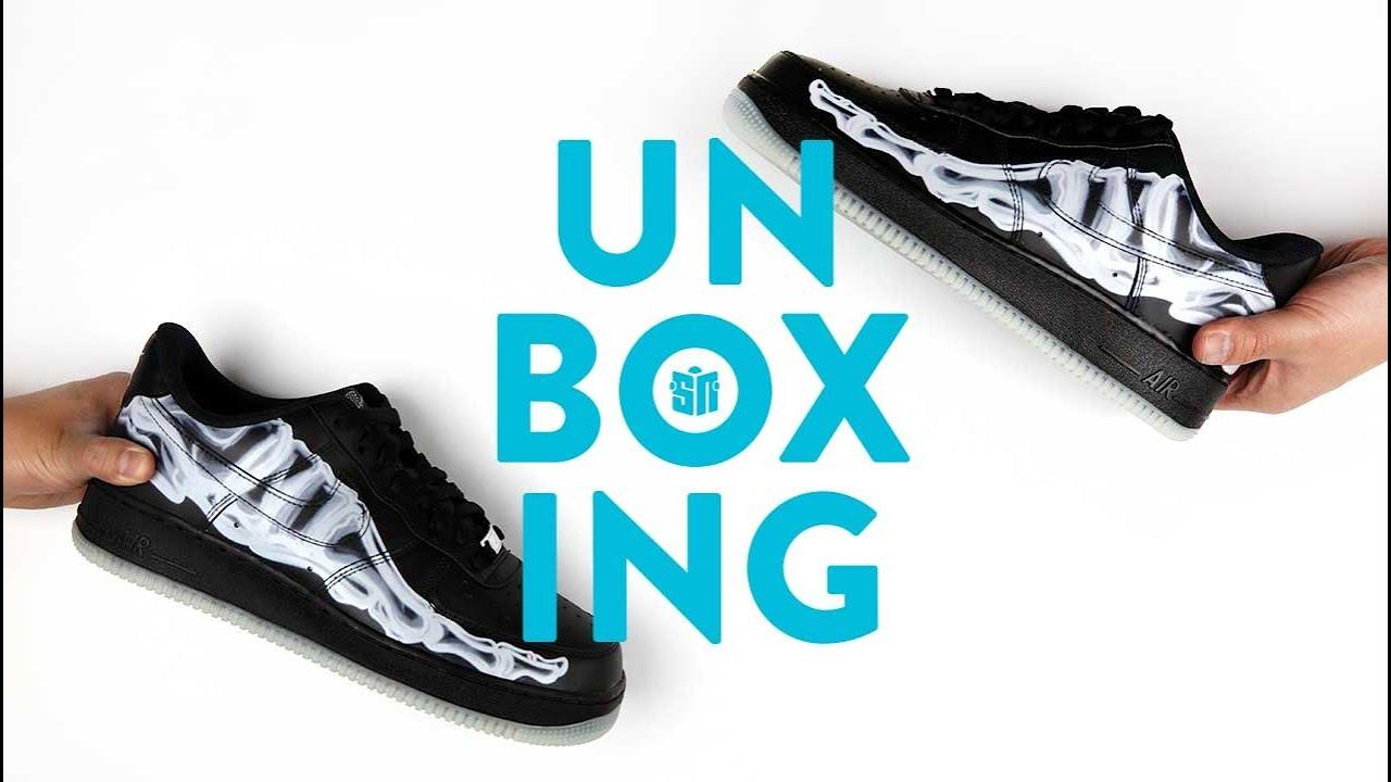 Nike Air Force 1 Skeleton BQ7541 001 Release Info