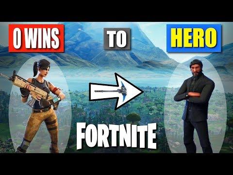 How I Went From 0 To Hero In Fortnite   Battle Royale Starter Tips 2
