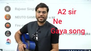 arvind arora sir ka best motivational song for students God gifted sir is A2sir #A2motivation #song