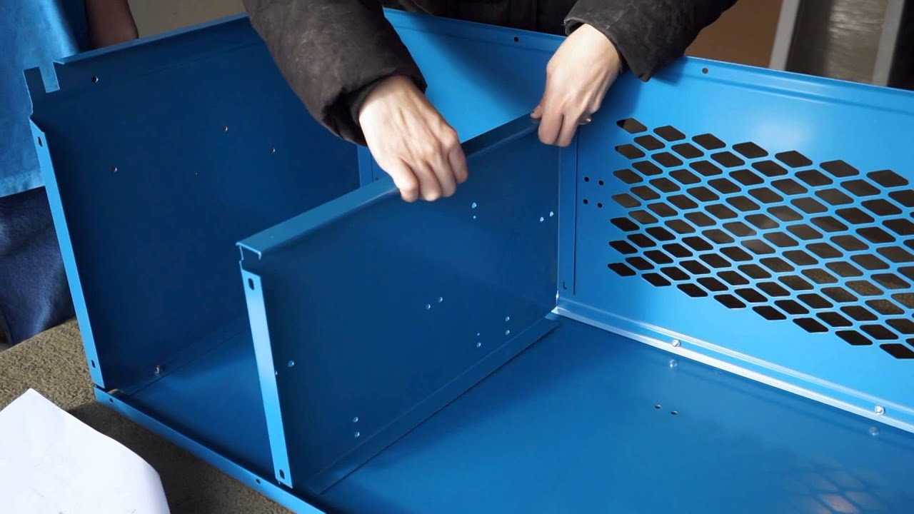 How to Assemble a Kids Stadium Sports Locker