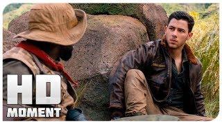 Алекс узнает, что пробыл в игре 21 год - Джуманджи: Зов джунглей (2017) - Момент из фильма