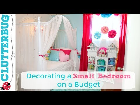 Decorating a Small Bedroom on a Budget - Makeover, Ideas and Reveal