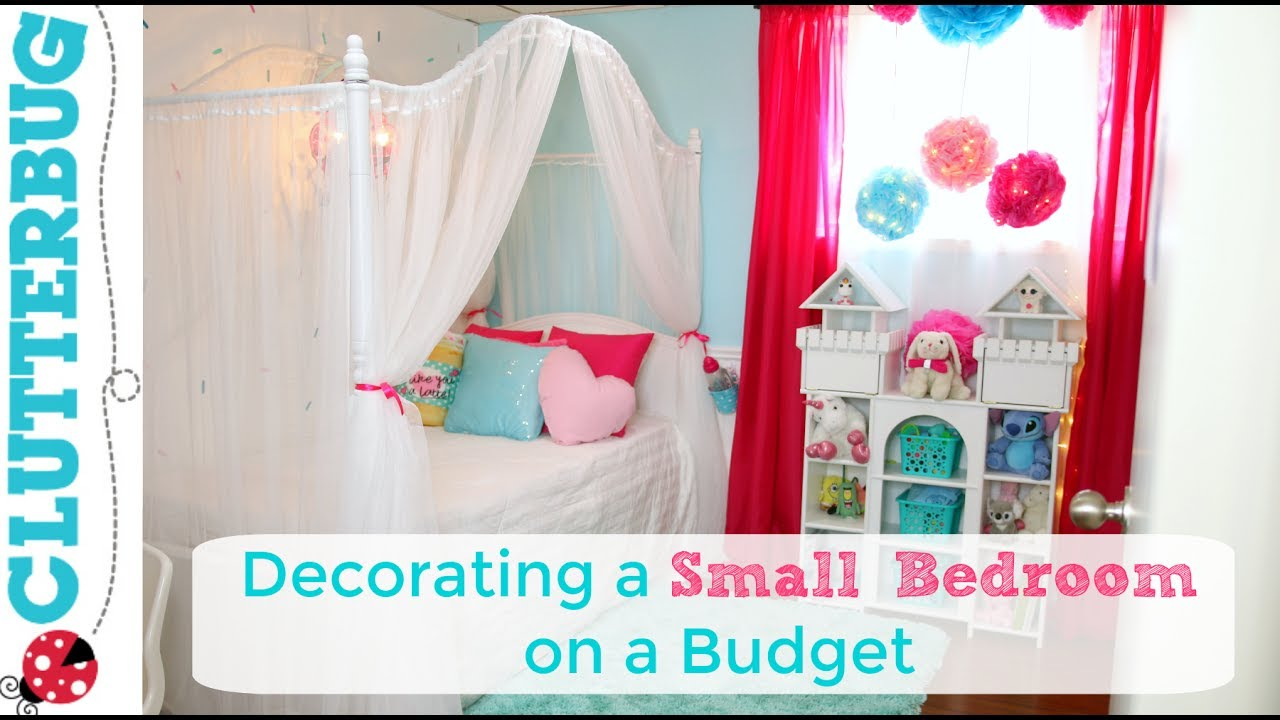 Decorating a small bedroom on a budget makeover ideas - Small bedroom decorating ideas on a budget ...