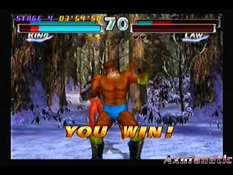 Tekken Tag Tournament: Julia Chang/King (Arcade Playthrough)