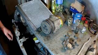 Как работает авто кондиционер и из чего он состоит.