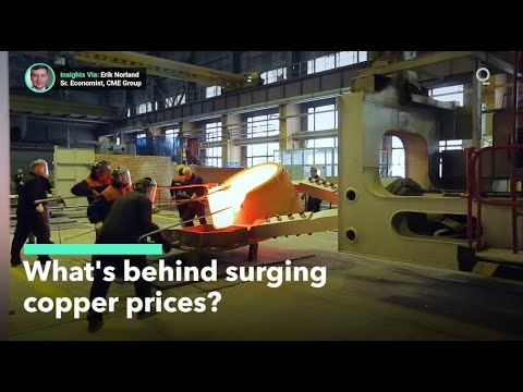 What's Behind Surging Copper Prices?