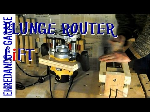 How to make a plunge router lift youtube how to make a plunge router lift greentooth Images