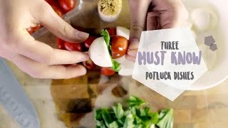 Potluck Party Vlog