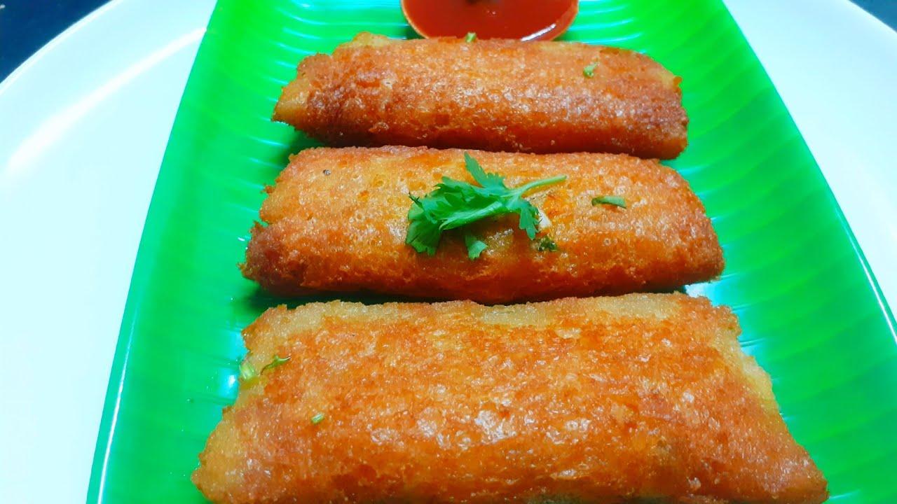 Vegetable Bread Pockets in Tamil | Easy Healthy Snack ...