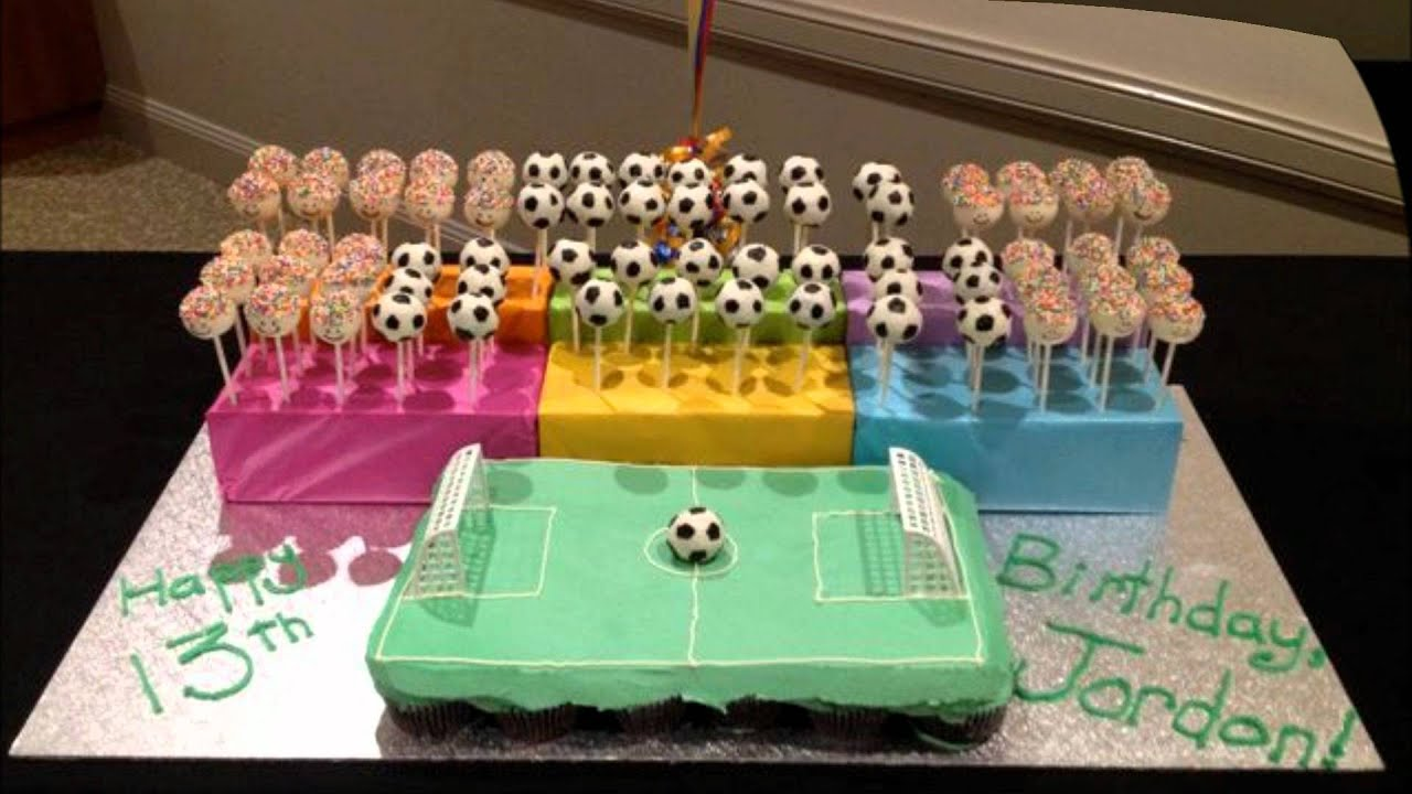 Cupcake Ideas Soccer Birthday Youtube