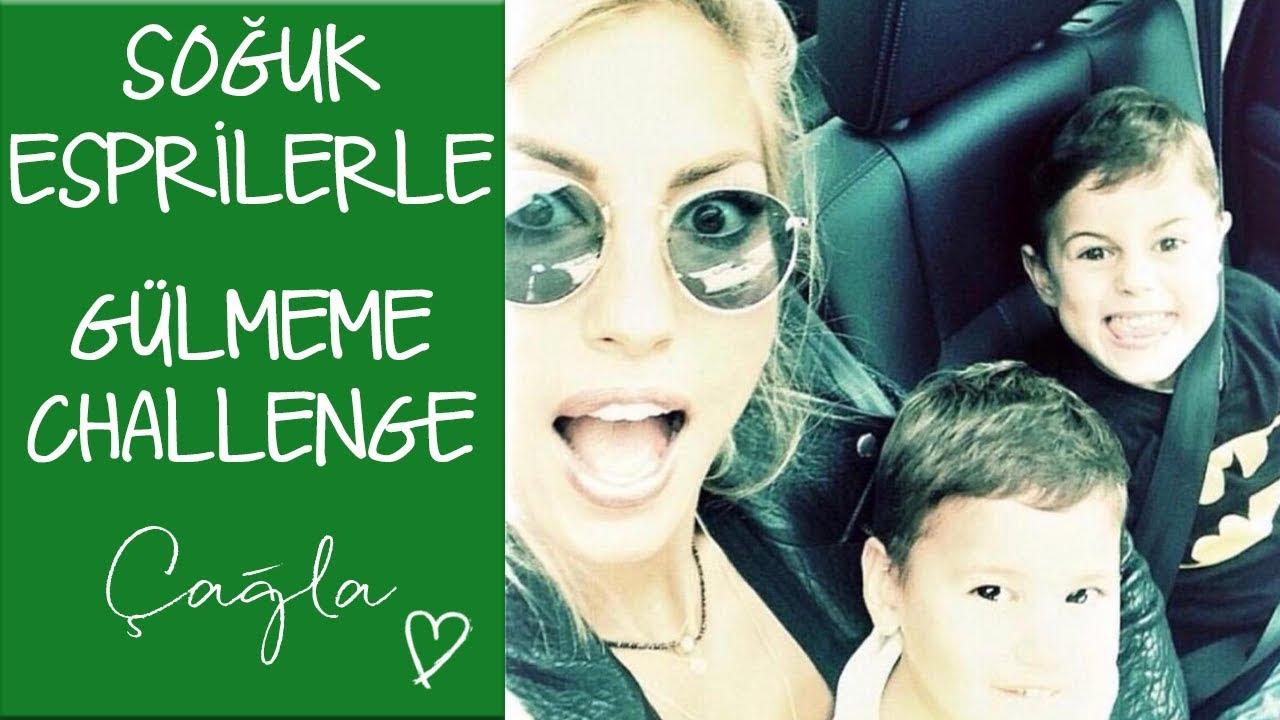Çağla | Hayattan Soğutan Esprilerim ve Çocuklarla Gülmeme Challenge | Anne -Çocuk