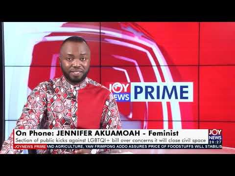Anti-LGBTQ+ bill: Homosexuality doesn't make us as Ghanaians - Joy News Prime (23-7-21)