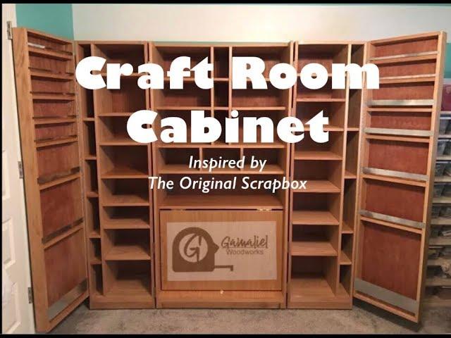Craft Storage Cabinet Youtube